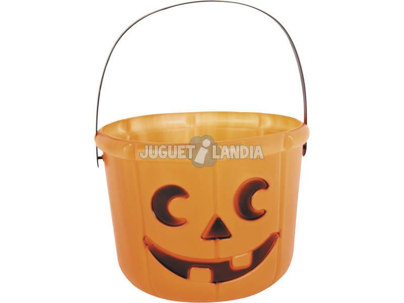 Calabaza con Asa Halloween
