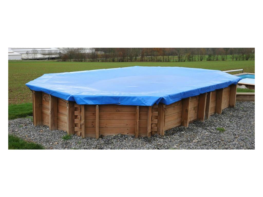 Cobertura de inverno para piscina 712x482 Cm Gre 779537