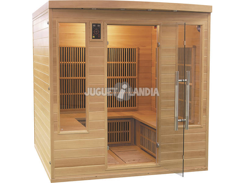 Sauna Infravermelho Apollon Club- 4/5 Assentos Poolstar SN-APOLLON-4S