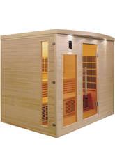 Sauna Infrarrojos Apollon - 5 Plazas