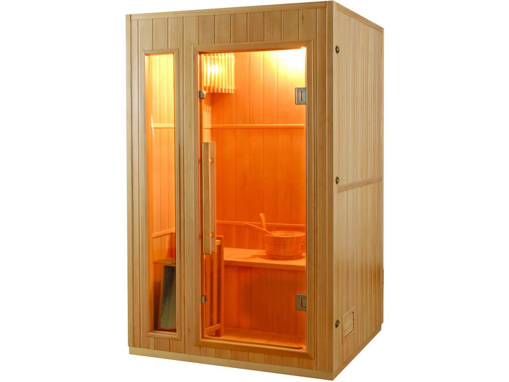 Sauna Tradicional Zen -3.5 Kw - 2 Plazas Poolstar SN-ZEN-2