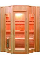 Traditionelle Sauna ZEN -6 kW - 4 Sitze