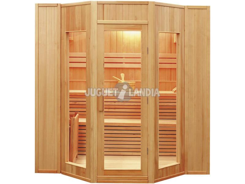 Sauna Tradicional ZEN - 8 kW - 5 Plazas