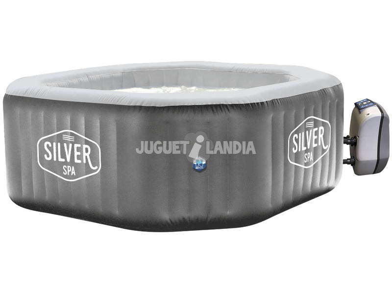 Spa Hinchable Silver -5/6 Plazas Poolstar SP-SLV155
