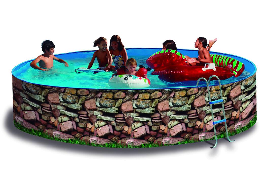 Parede da piscina 450x90 cm. Toi 8522