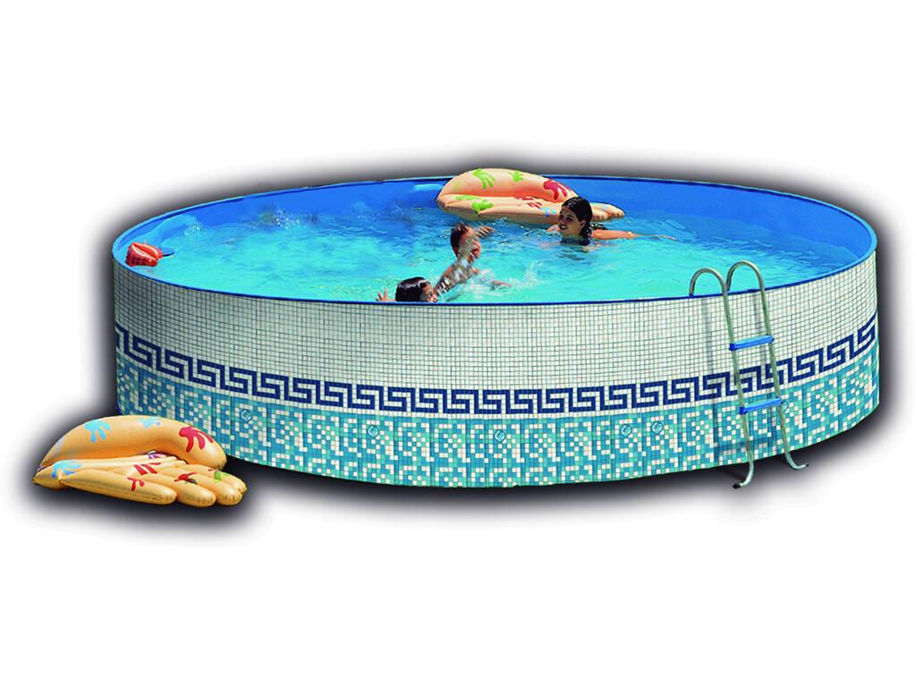 Piscina Toi Mosaico 400x90 cm.