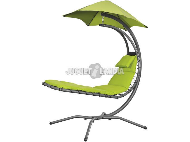 Tumbona Suspendida Nest Move - Color Verde Poolstar GD-NESTMV-VE