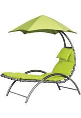 Transat Suspendu Nest Lounge-Couleur Vert