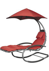 Tumbona Suspendida Nest Swing- Color Rojo