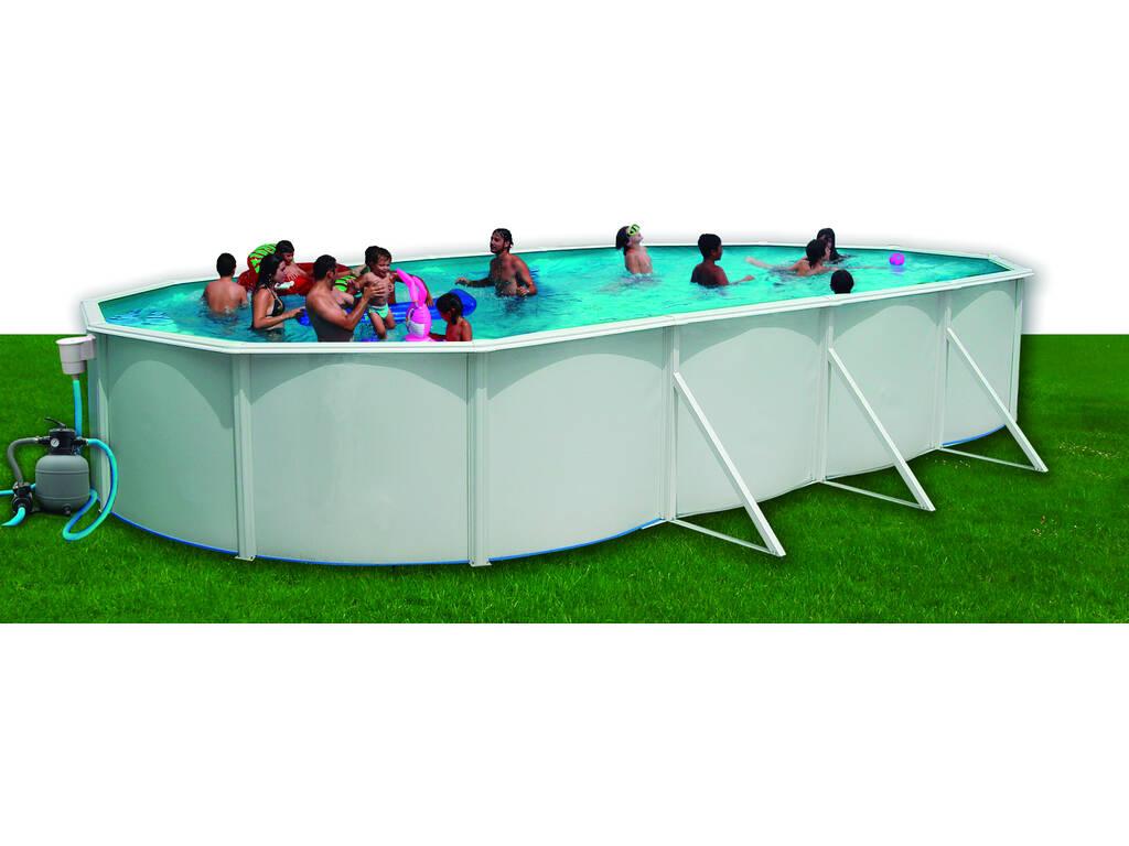 Acheter piscine toi mallorca 730x366x120 cm avec kit t for Acheter piscine