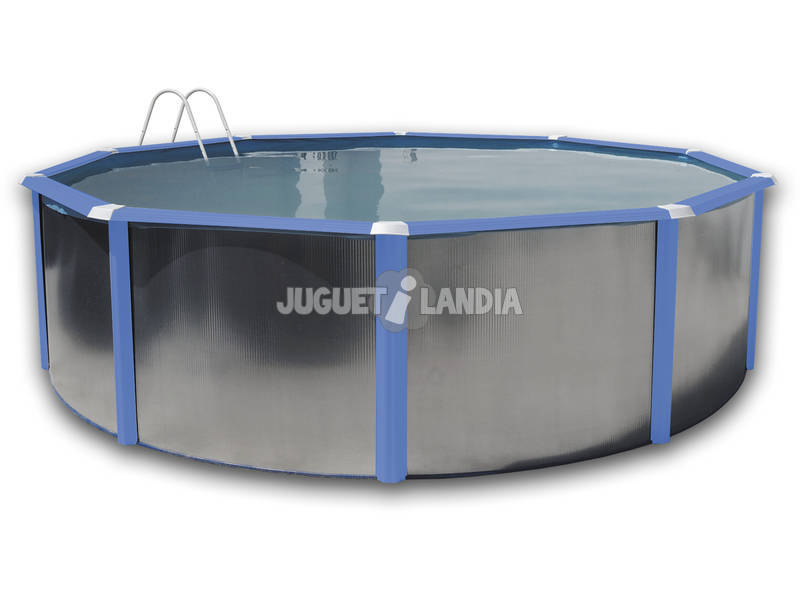 acheter piscine hors sol silver bleue 460x120 cm. Black Bedroom Furniture Sets. Home Design Ideas