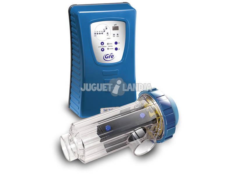 Eletrólise salina de cloro para piscinas internas até 50.000 L Gre EES050PH