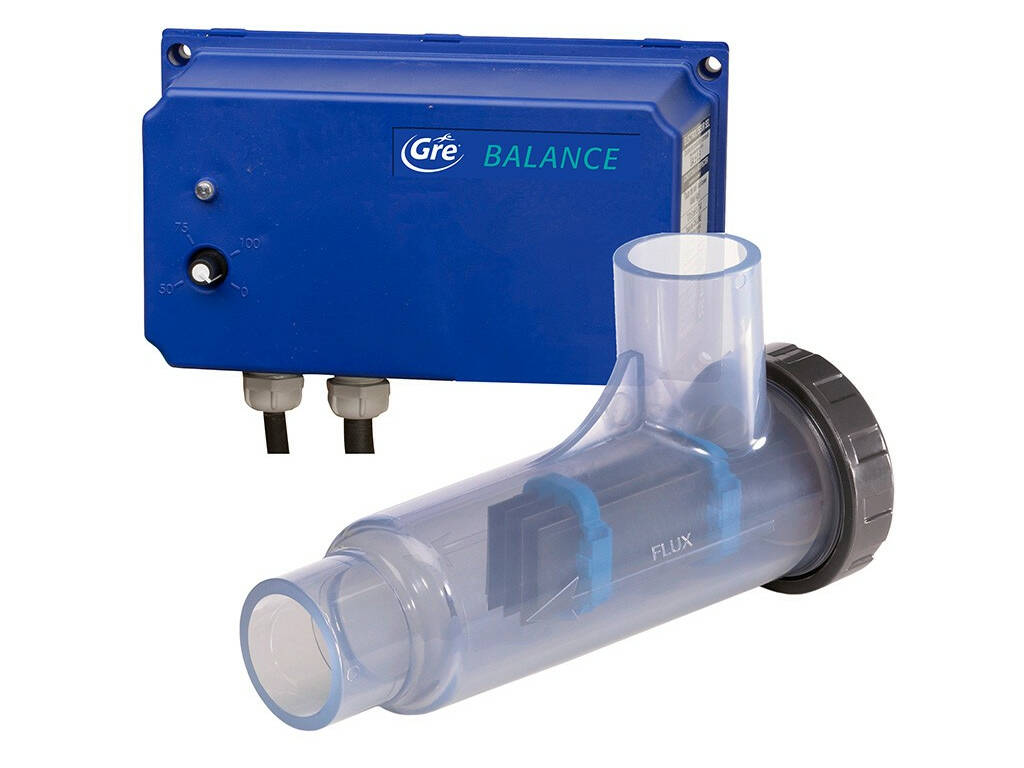 Sal clorador Eletrólise Equilíbrio Para Piscinas Até 55.000 L Gre EESB55