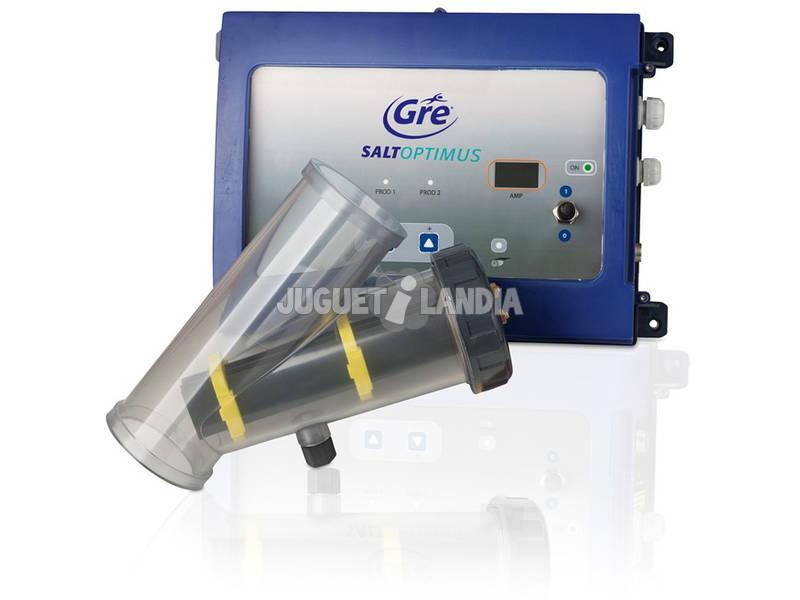 Electrolysis salino Electrólise de Optimus para associações até 60.000 L Gre ESP60