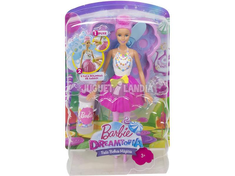 Barbie Dreamtopia Fada Borbulhas Mágicas DVM95