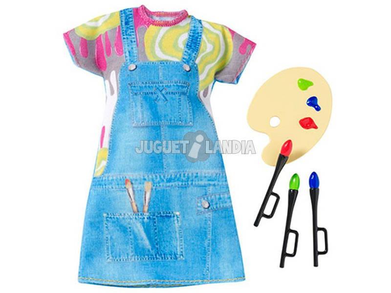Conjunto de Moda Barbie Yo Puedo Ser. Mattel CHJ27