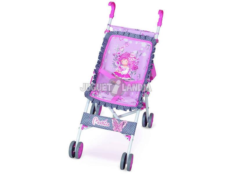Cadeira de Boneca Dobrável com Saco Convertível Maria Decuevas 90017