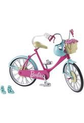 imagen Barbie Bicicleta con Cesta de Flores Mattel DVX55