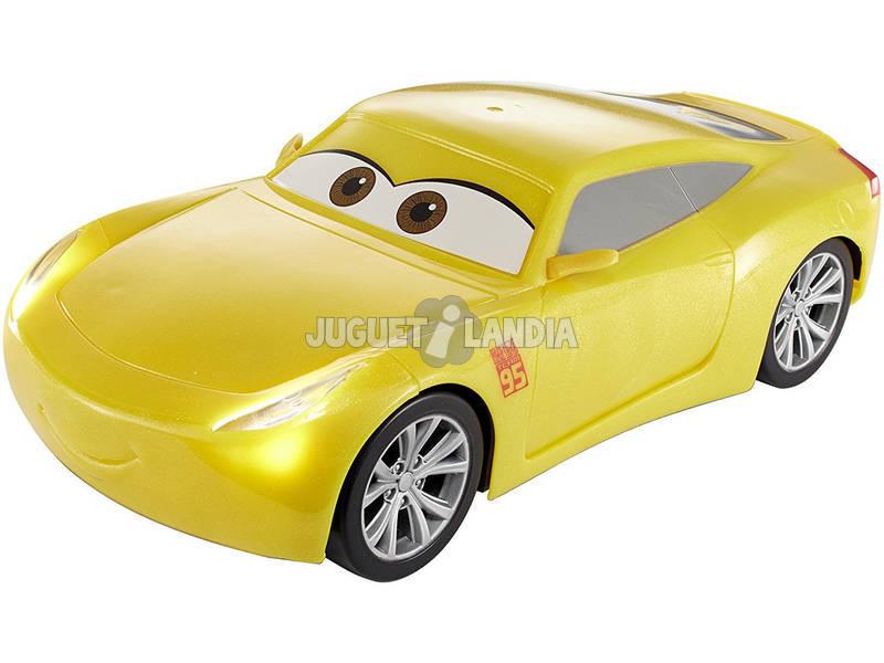 Cars 3 Cruz Rápida y Parlanchina Con Luces y Sonidos 23x8x11cm Mattel FGN59