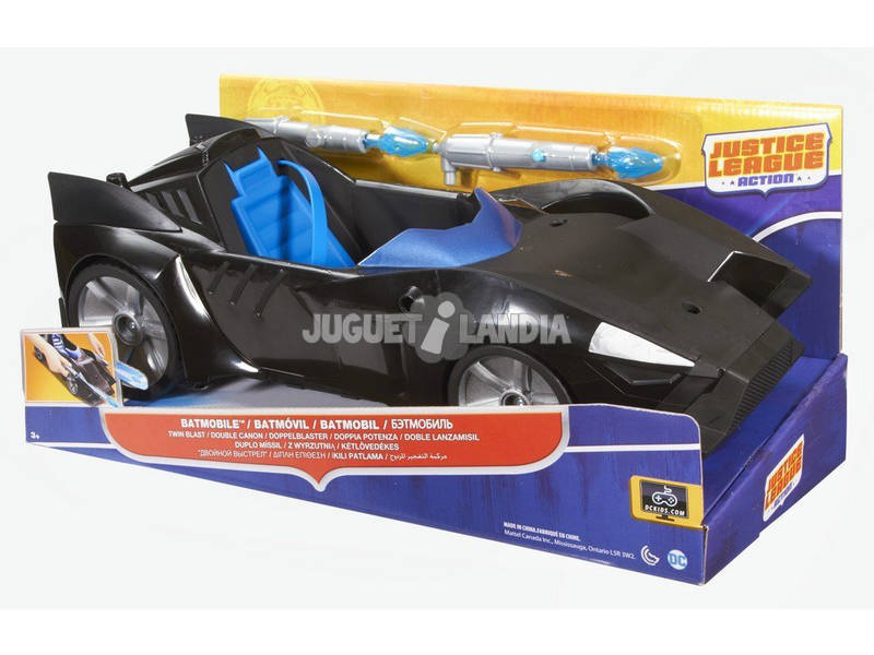 Batmovil Duplo Lança Míssil Mattel FDF02