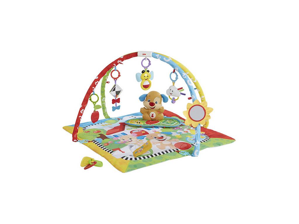 Gimnasio Fisher Price Aprendizaje Perrito Mattel FBD48