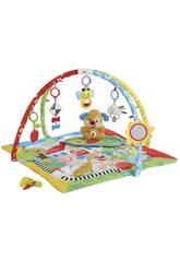 Fisher Price Gimnasio Aprendizaje Perrito Mattel FBD48