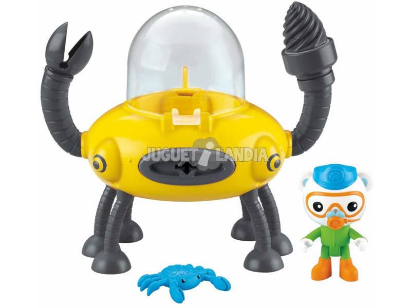Octonautas Veículo e Figura Mattel T7017