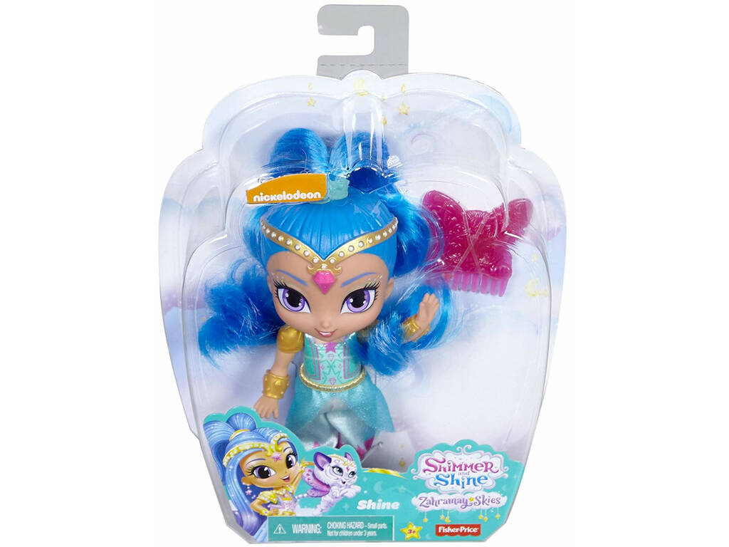 Shimmer and Shine Boneca 14 cm Mattel DLH55