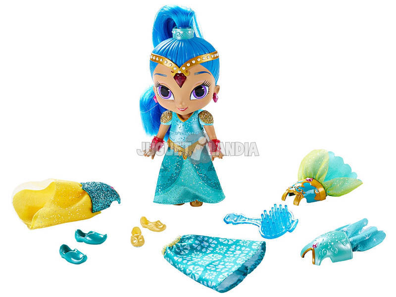 Boneca Shimmer and Shine Vestido Mágico Mattel DGL78