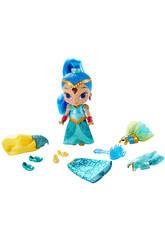 Muñeca Shimmer and Shine Vestido Mágico Mattel DGL78