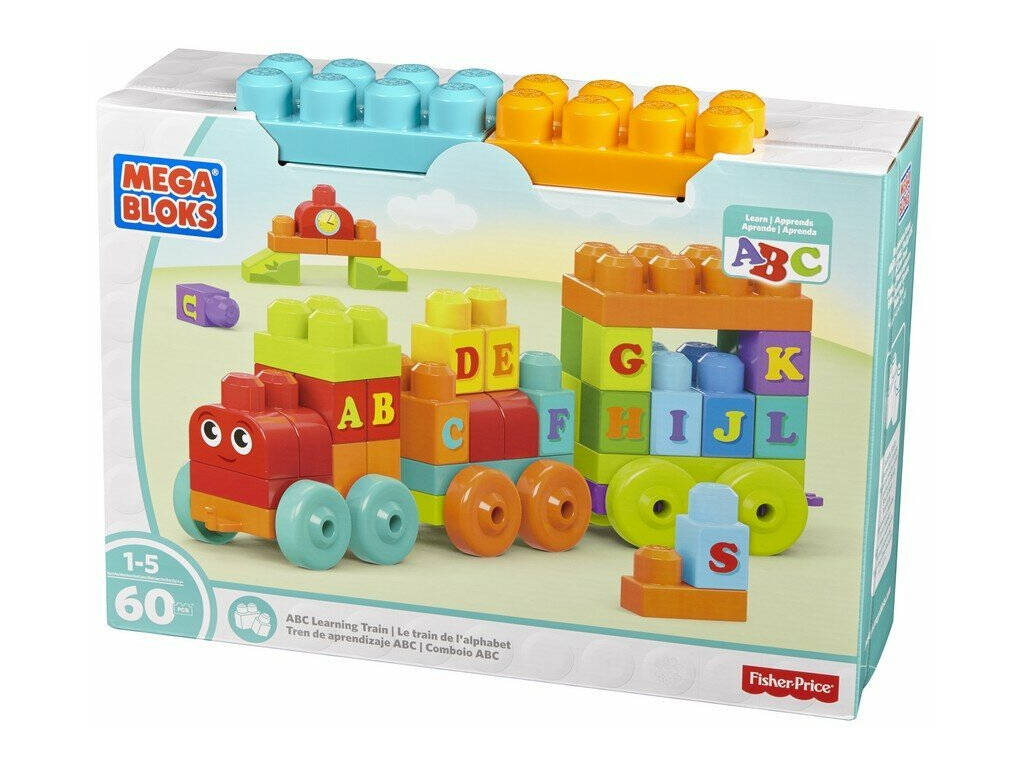 Tren de Aprendizaje Mega Bloks ABC Mattel DXH35