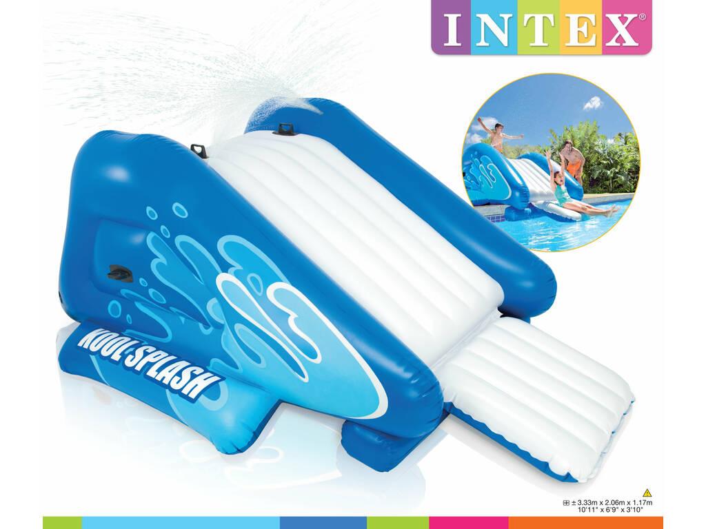 Acheter toboggan gonflable pour piscines 333x206x117 cm for Ou acheter piscine intex