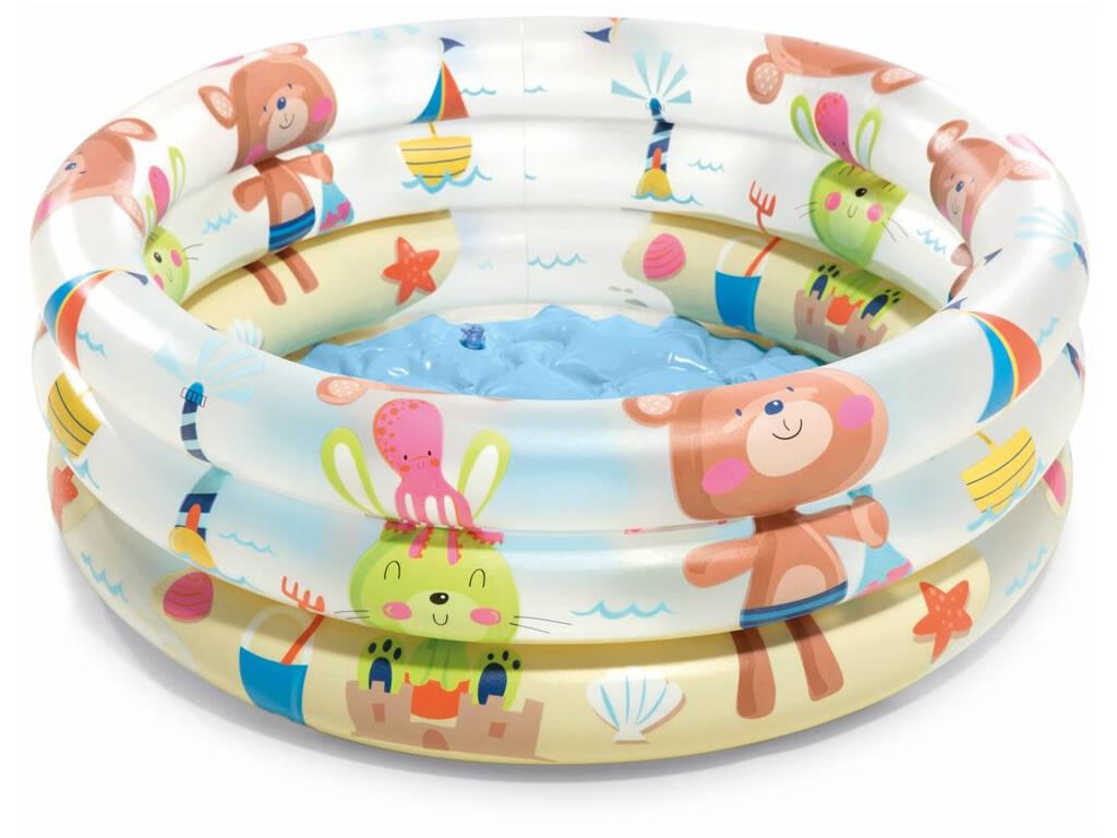 Acheter piscine gonflable 3 boudins dinosaure 61 x 22 cm for Piscine dinosaure