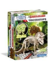 imagen Arqueojugando Triceratops Fosforescente