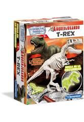Arqueospielend T-Rex Phosphoreszierend