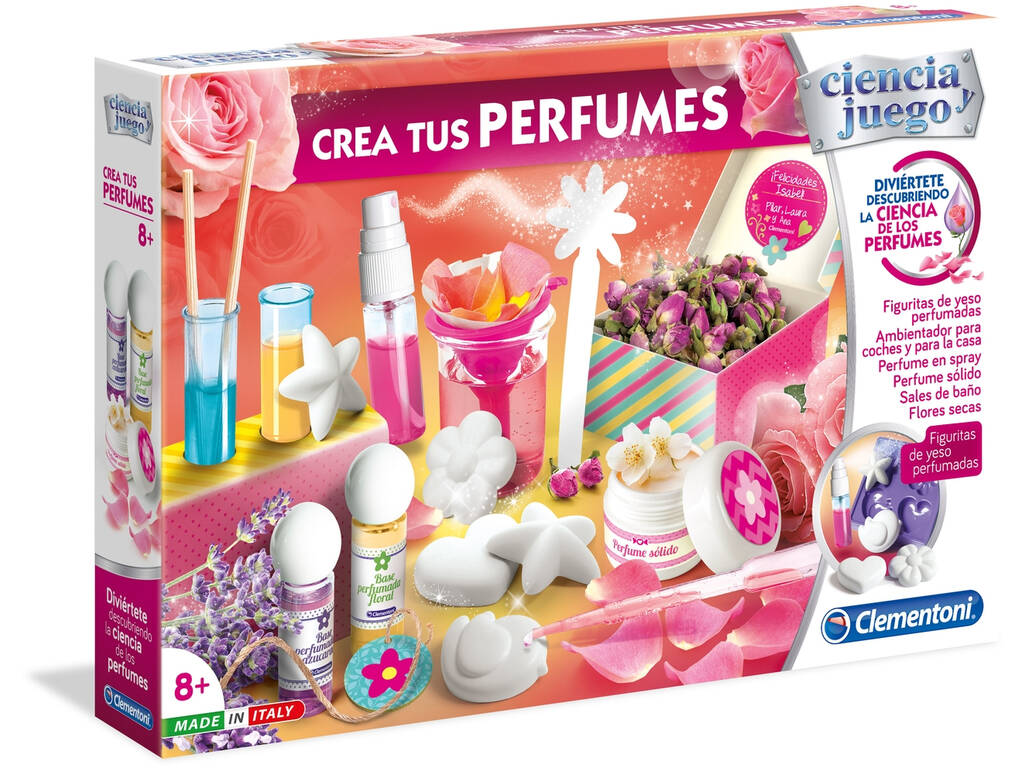 Laboratorio Cria os Teus Perfumes Clementoni 55204