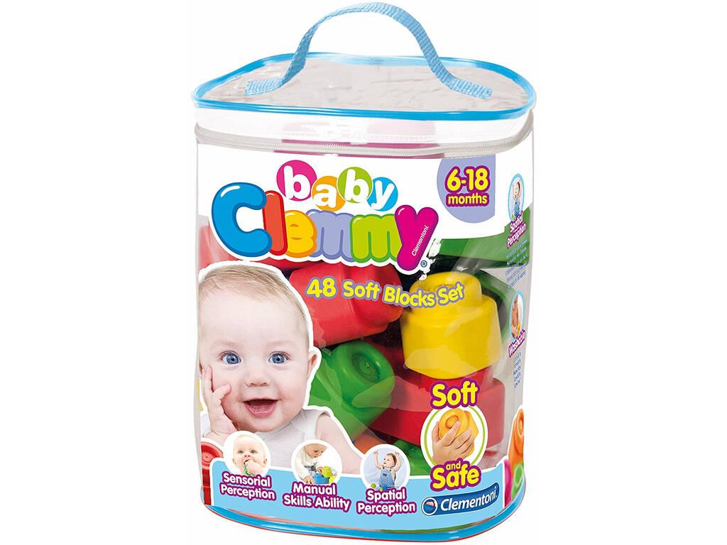 Clemmy Baby Sac 48 Blocs Clementoni 17134