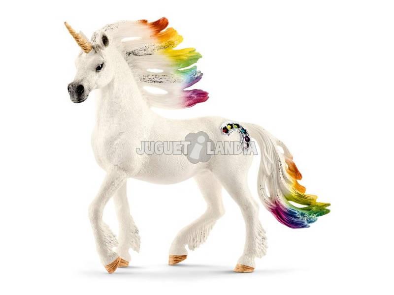 Unicornio Arcoíris Macho Schleich 70523