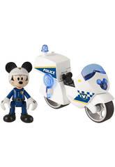 Mickey Mouse Moto Della Polizia