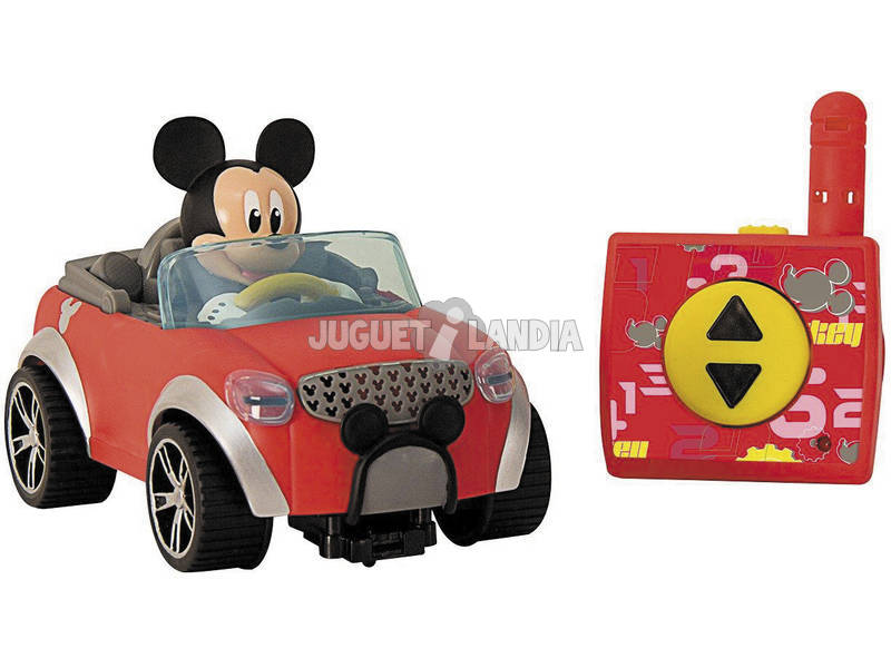 Radio Control Mickey Coche City Fun