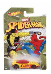 Hot Wheels Vehículos Spiderman Mattel DWD14