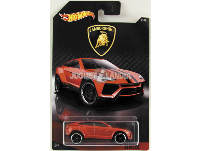 Hot Wheels Vehículos Lamborghini Surtidos Mattel DWF21