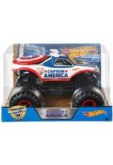 Hot Wheels Voitures Monster Jam 1:24