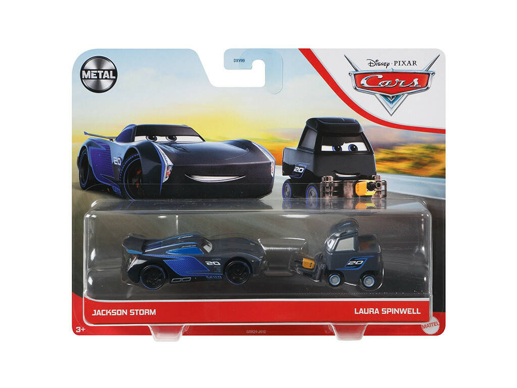 Cars 3 Pack 2 Coches Mattel DXV99