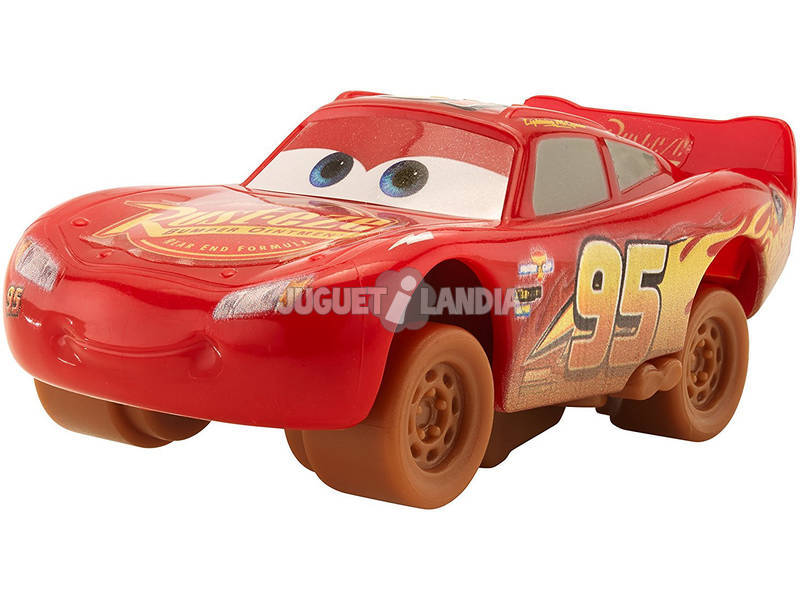 Cars 3 Coches Crazy 1:55. Mattel DYB03