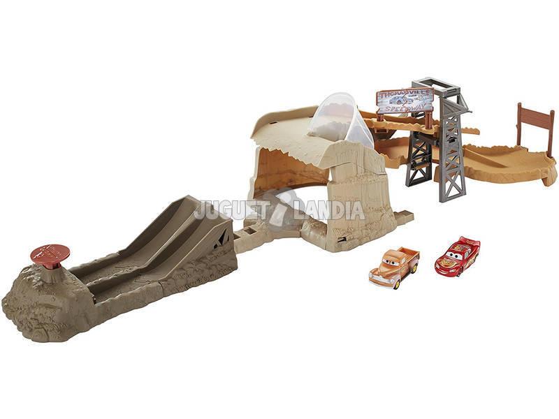 Cars Circuito Carreras A Medianoche Mattel FCV94