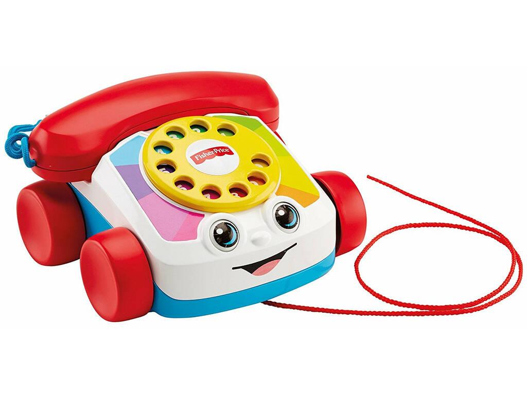 Teléfono Fisher Price Carita Divertida Mattel FGW66