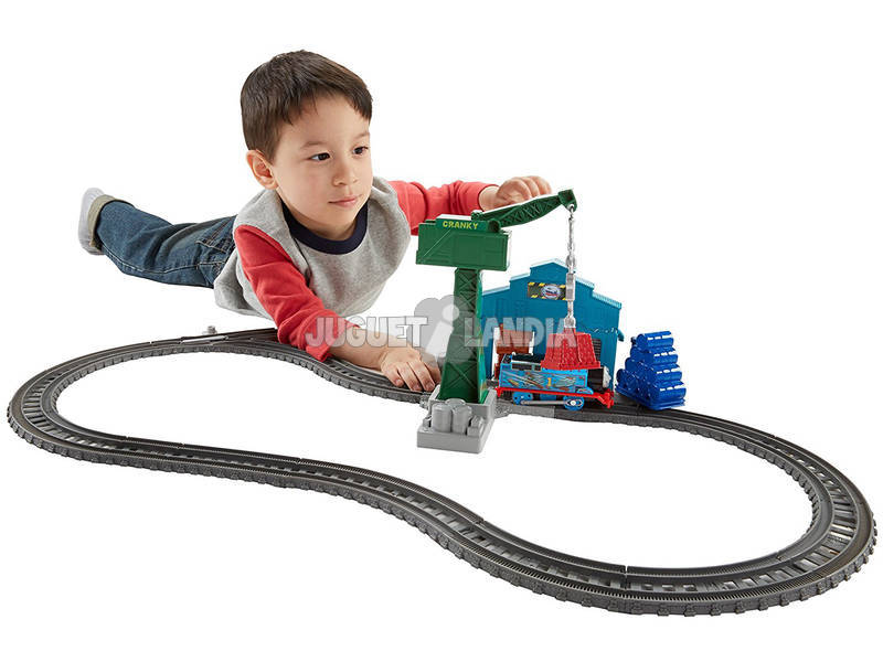 Thomas e os Seus Amigos Desmoronamento no Ancoradouro