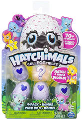 Hatchimals à Collectionner 4 Figurines Bizak 6192 1915