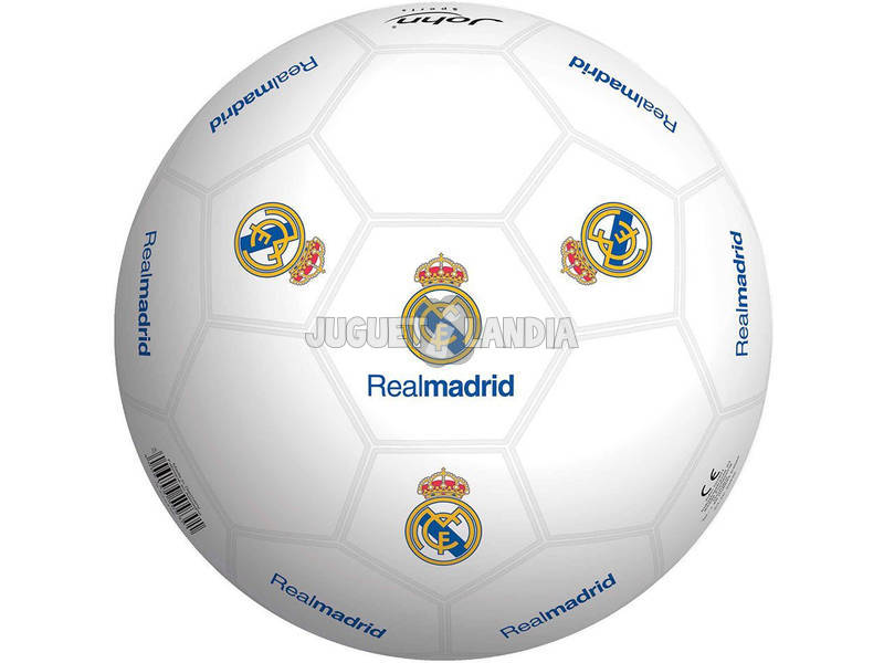 Bola 230 mm. 400 gr. Real Madrid Estuche Smoby 50929